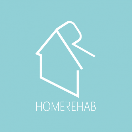 Kontakt HomeRehab - logo