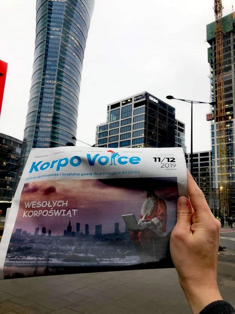 Homerehab wywiad w gazecie Korpo Voice